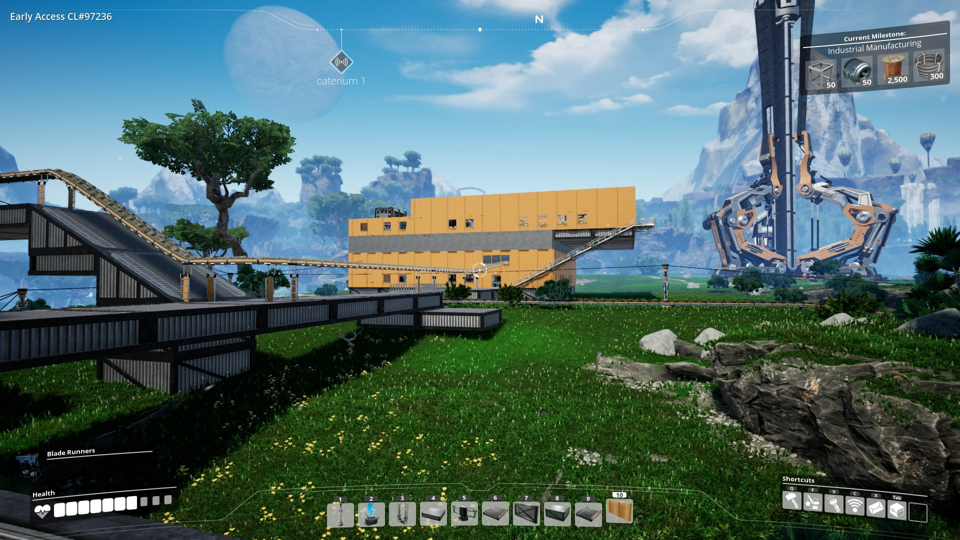 Satisfactory (12): Caterium factory finished - Marnux com