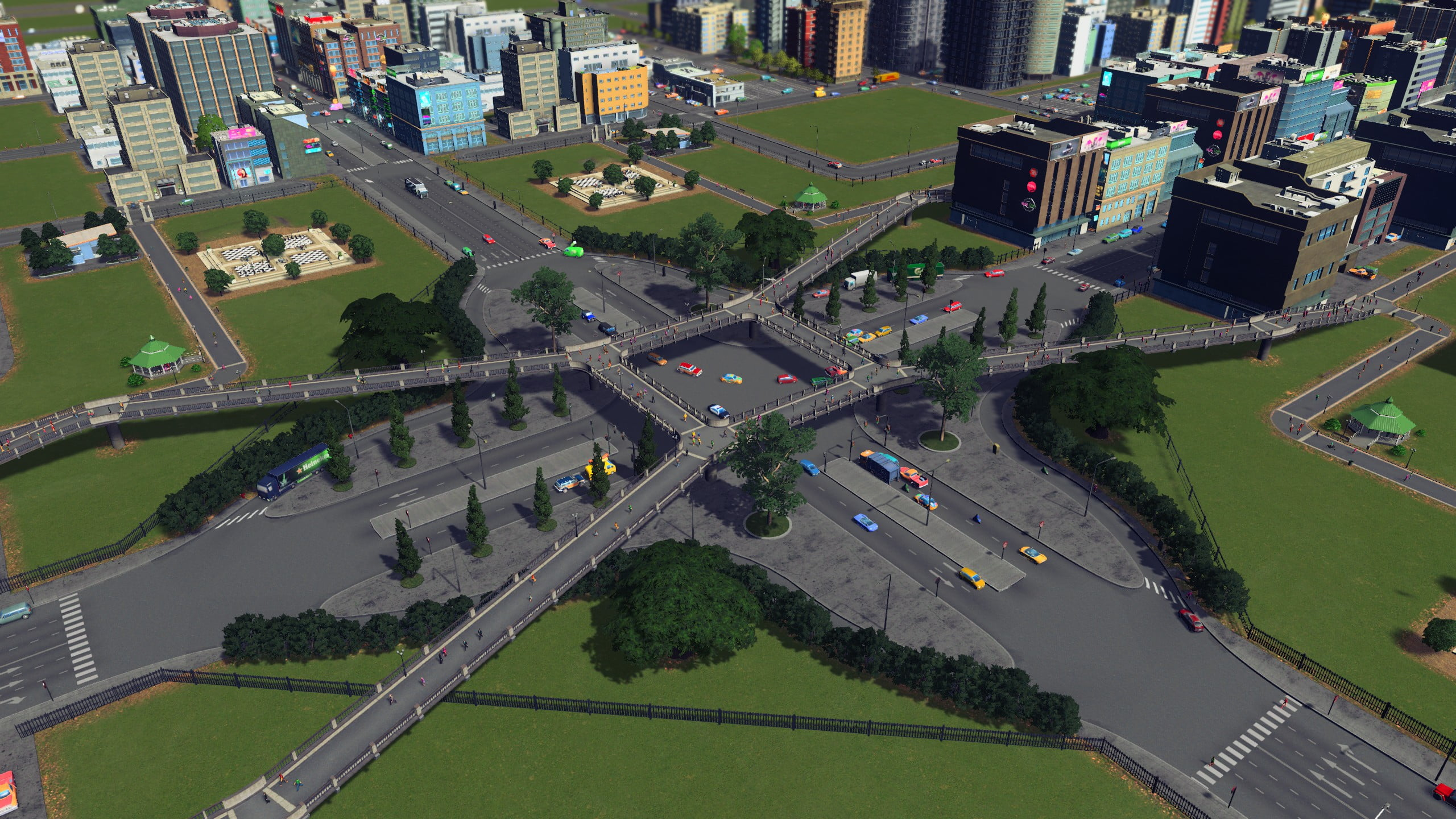 simple intersection